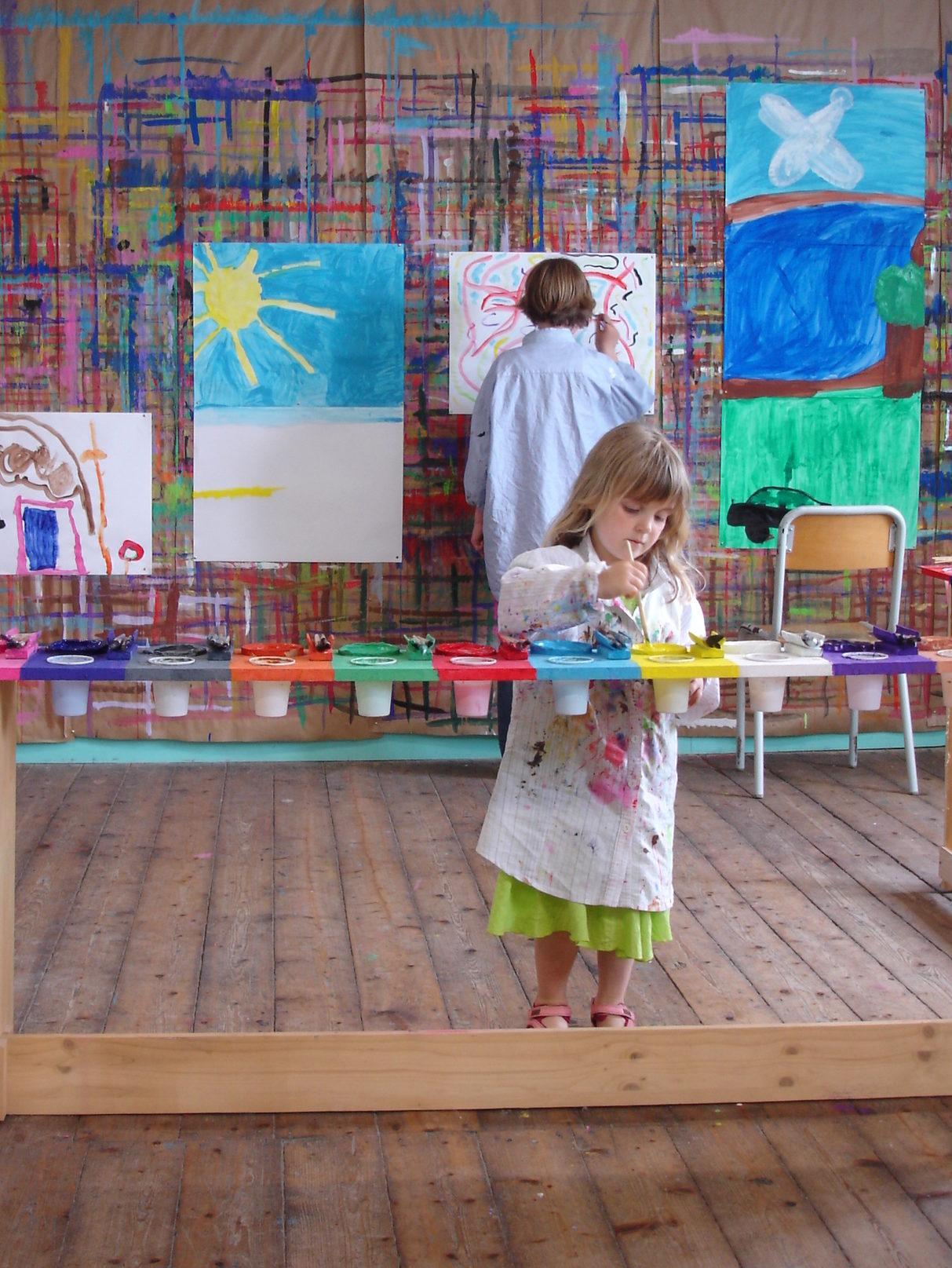 Les Ateliers l'ENVOL mon ancien Jeu de Peindre aujourd'hui fermé.